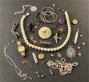 Large Collection of Costume Jewelry, Watch, and Other