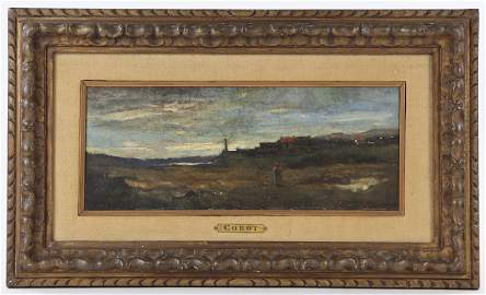 """""""Souvenir Du Phare de Cayeaux"""" by Corot"""