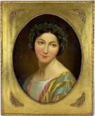 Fine Neoclassical Portrait of a Woman