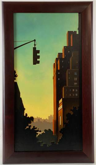 """""""Without a Bus"""" by Kenton Nelson"""