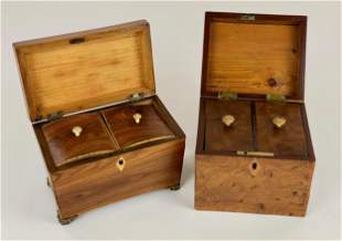 Pair of Sewing Caddies