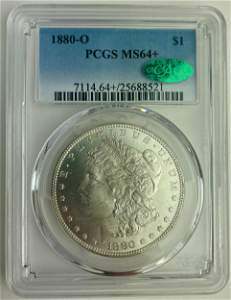 1880-O PCGS MS64+ with CAC Morgan Silver Dollar