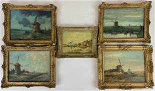 Five Dutch Paintings, 4 by Jurrien Beek