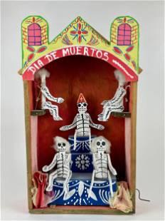 """Dia De Muertos"" Automaton"