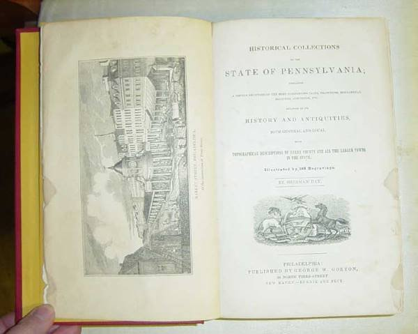 1: Collections of Pennsylvania By Sherman Day (history
