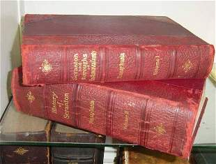 Two volumes of Scranton and the Boroughs of Lackawan