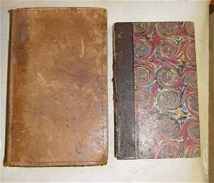 Lot of 2 books Compilation of the Laws of the State