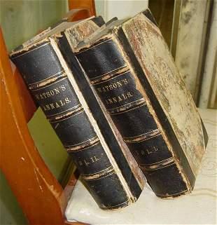 2 volume set of Annals of Philadelphia & Pennsylva