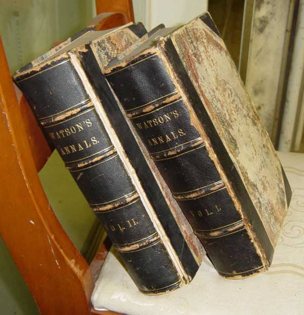 14: 2 volume set of Annals of Philadelphia  & Pennsylva