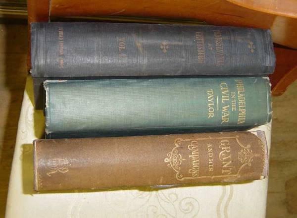 18: Lot of 3 Books Philadelphia in the Civil War 1861-1