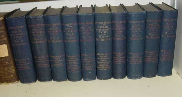 21: 10 volumes of Official Records of the Union and Con