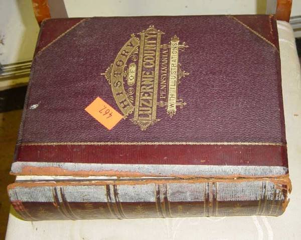 23: History of Luzerne County Illustrated 1893 HC Brads