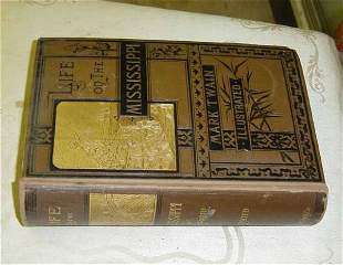 Life of the Mississippi by Mark Twain first Edition