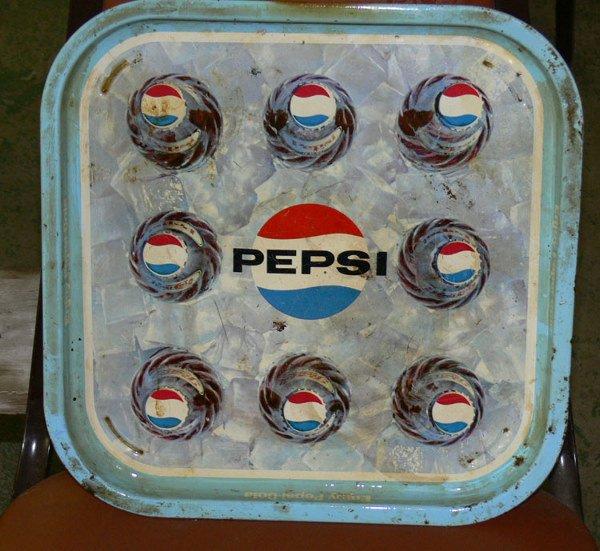 """1003: Pepsi tray tin 13"""" x 13"""""""