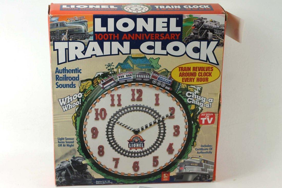 Lionel Train Clock with Original Box