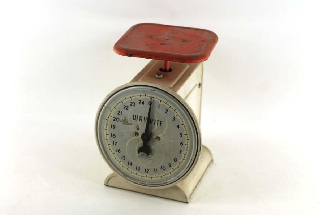 Vintage Wayrite Kitchen Scale