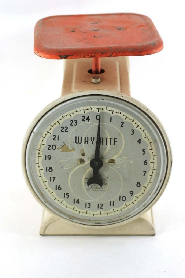 Vintage Wayrite Kitchen Scale - 2