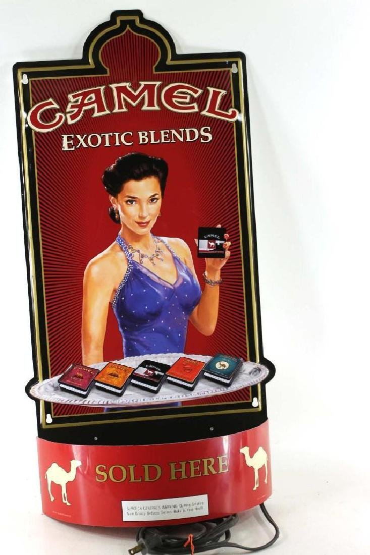 Camel Cigarettes Store Display Advertising