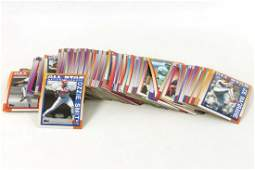 Lot of Approximately 200 Topps Baseball Cards