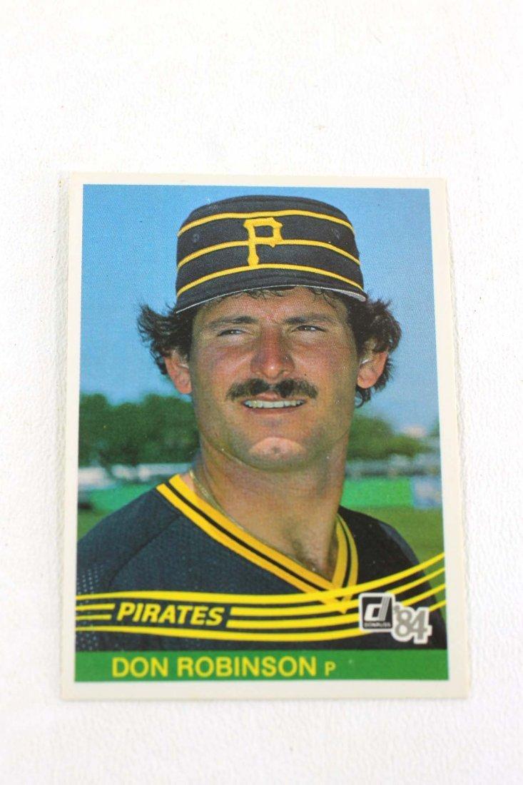1984 Donruss Baseball Card 532 Don Robinson Mar 24 2019