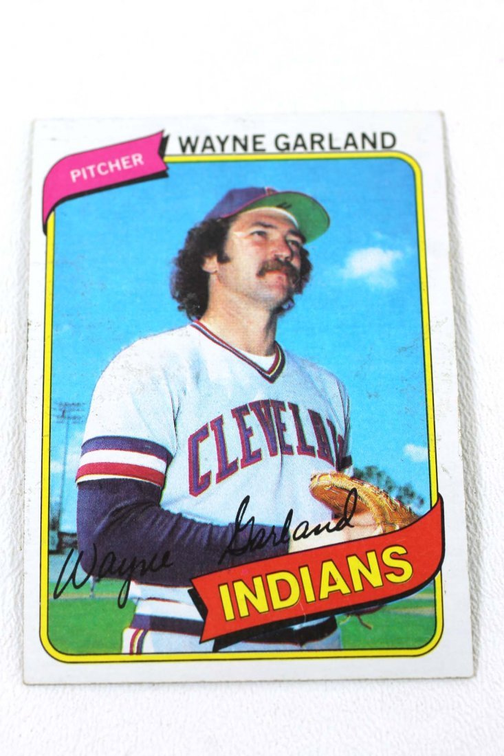 1980 Topps Baseball Card 361 Wayne Garland Mar 24 2019