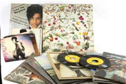 Lot of Vinyl Records 33 and 45 RPM incl Prince , The