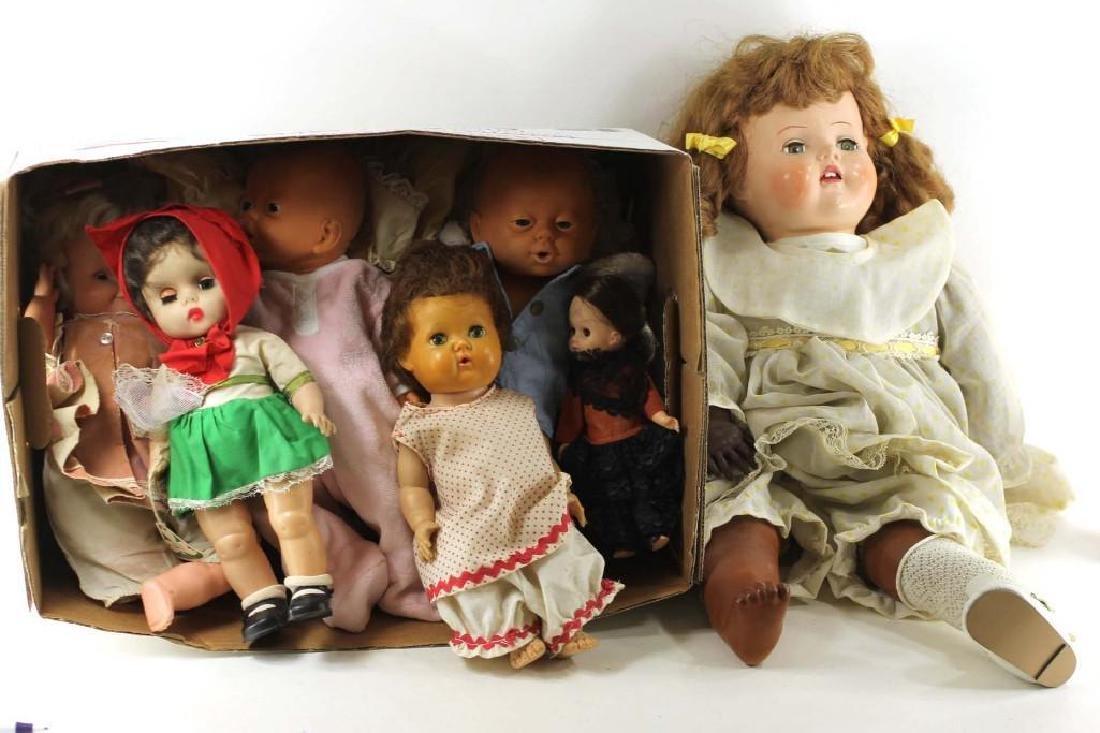Lot of Dolls, Some Vintage