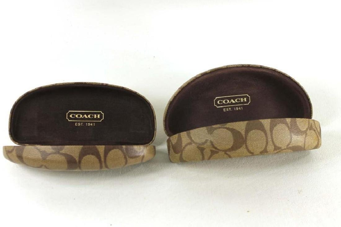 2 Coach Eyeglasses Cases
