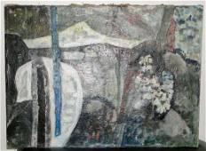 Henryk Wojcik Nokturn Oil on Canvas