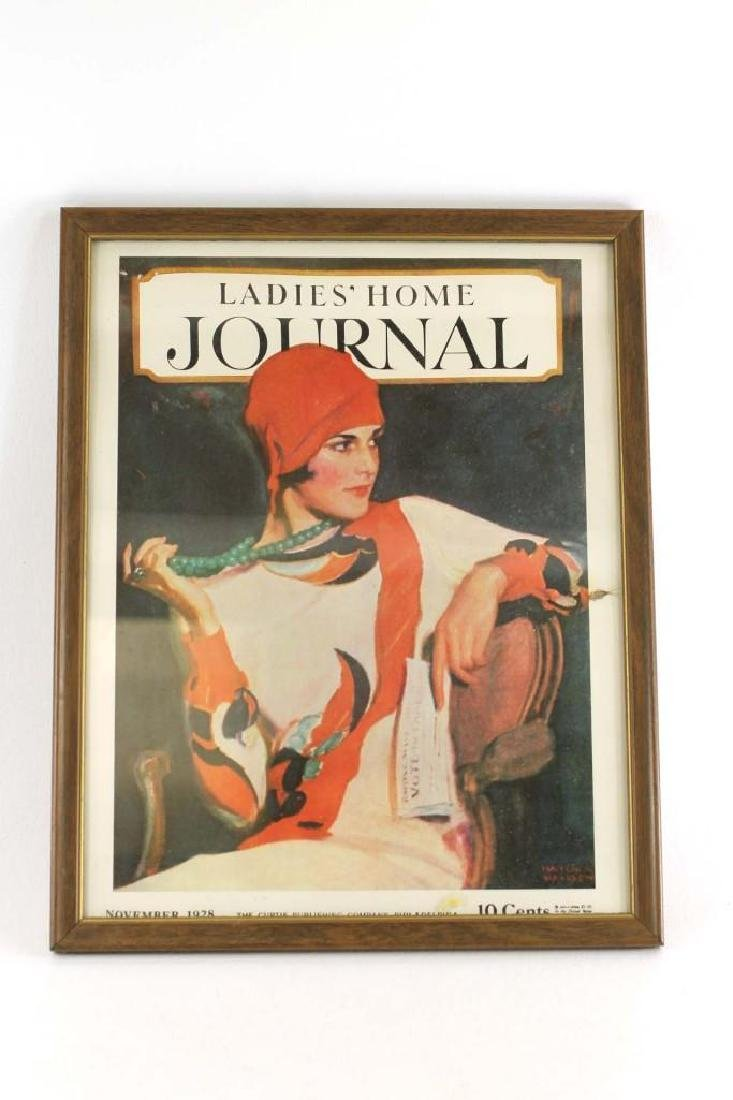 Framed Cover of a Ladies Home Journal