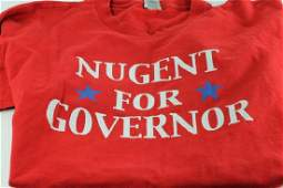 Nugent for Governor Ted Nugent TShirt