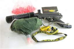 Paintball Gun with Accessories
