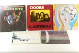 Lot of 5 Vinyl Records 33 RPM LPS Rock