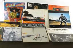 Lot of Vinyl Records 33 RPM LPs Mostly Rock and Pop
