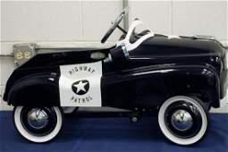 Glide Ride Highway Patrol Pedal Car