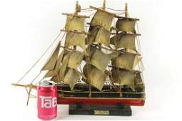 Large Vintage Wooden Clipper Ship Model Boat Cutty Sark