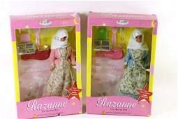 Lot of 2 Razanne Dolls New in Package