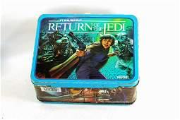 Star Wars Return of the Jedi Metal Lunch Box