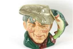 Royal Doulton The Poacher Toby Jug or Character Mug