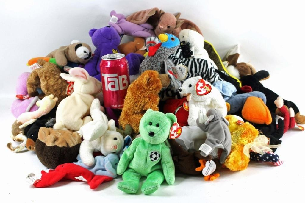Lot of Ty Beanie Babies Most New with Tags