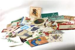 Lot of Vintage Ephemera Greeting Cards