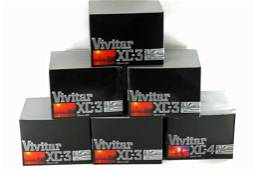 Lot of 6 NOS Cameras incl 5 Vivitar XC-3 and 1 Vivitar