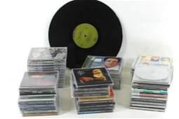 Black Sabbath Vinyl Record and a Lot of CDs