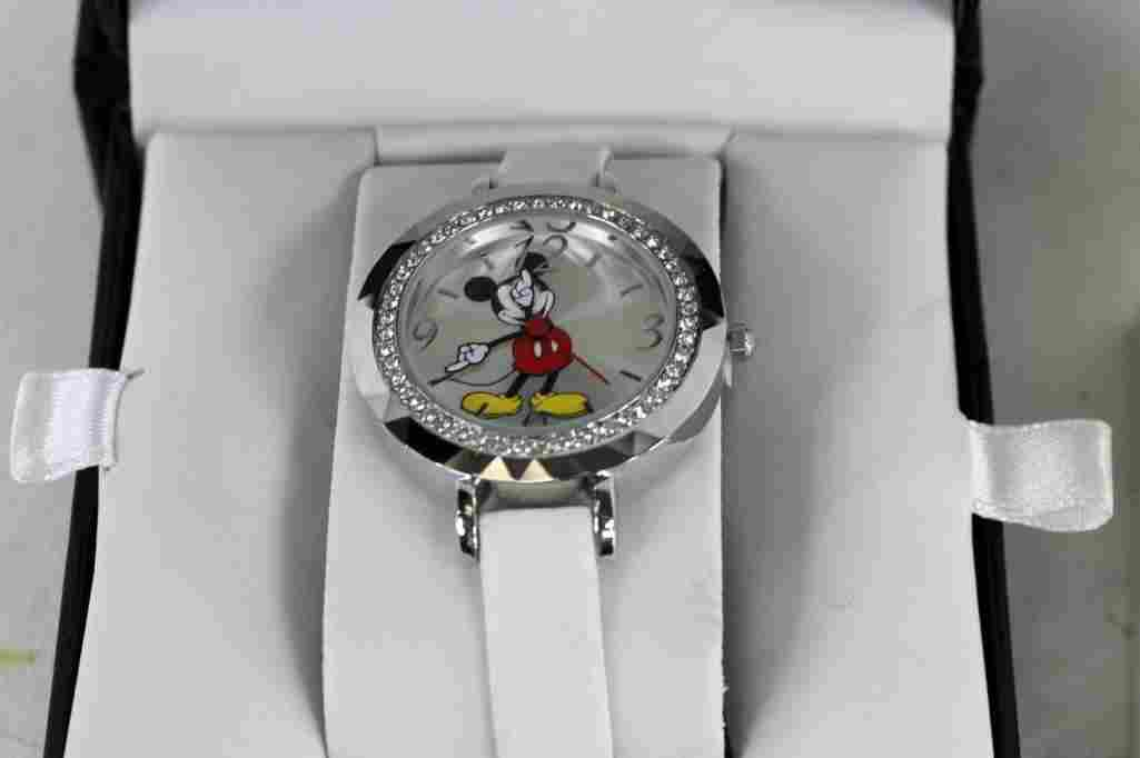 Disney Mickey Mouse Watch with Case