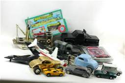 Lot of Toy and Model Cars Planes and Boat incl Die
