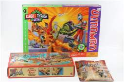 Lot of Toys incl Ultraman Clash  Thrash City Action