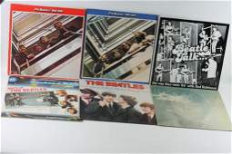 Lot of Beatles LP Records and a John Lennon
