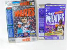 Lot of 2 Wheaties Boxes incl a Michael Jordan Wheaties