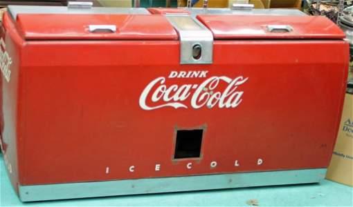 1947 Westinghouse Coca-Cola Machine Double Size