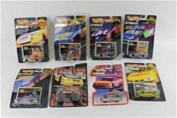 Lot of 8 Hot Wheels Pro Racing Cars